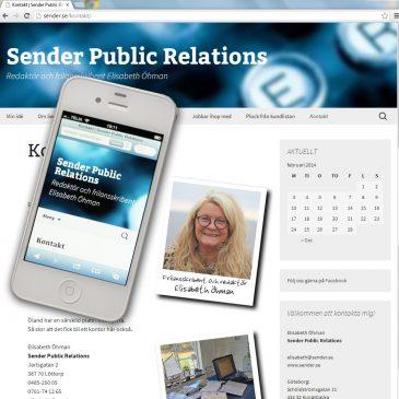 SENDER PUBLIC RELATIONS